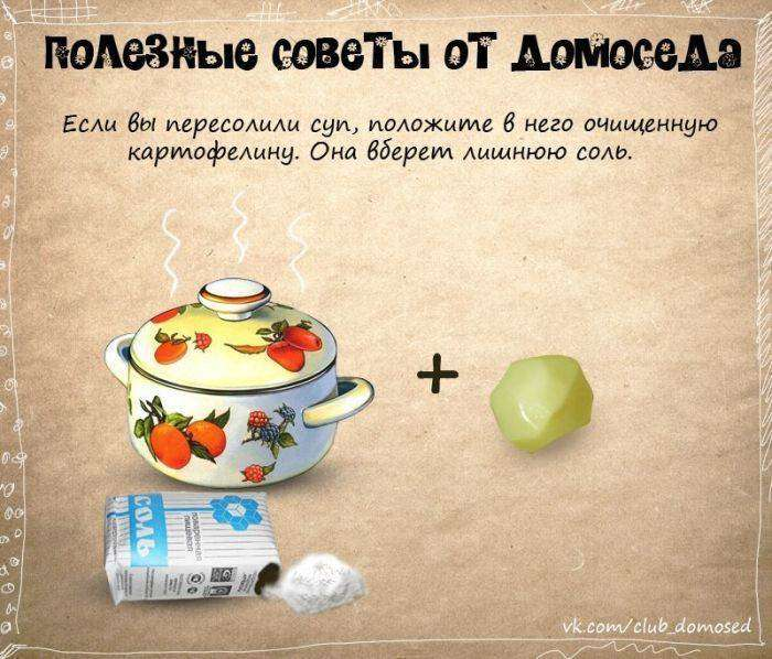Полезные советы от домоседа