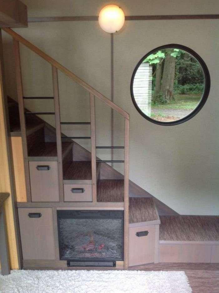 Этот домик построен на 18 кв.м, но вы только посмотрите что внутри! (10 фото)
