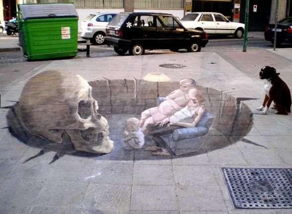 3D иллюзии Eduardo Relero