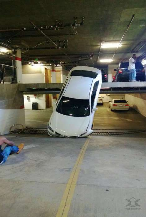 Горе паркуйщики