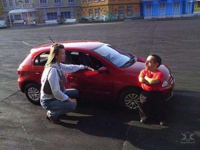 Volkswagen Mini-Gol - авто для маленьких людей