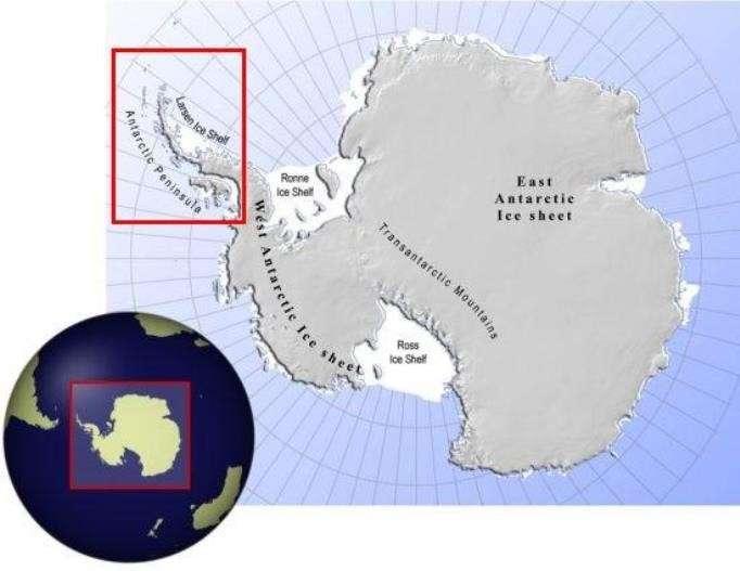 Айсберг весом в триллион тонн откололся от ледника в Антарктиде (3 фото)