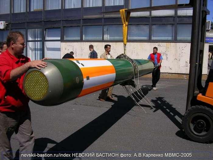 ВМФ РФ принял на вооружение тепловую торпеду -Физик-2- (3 фото)