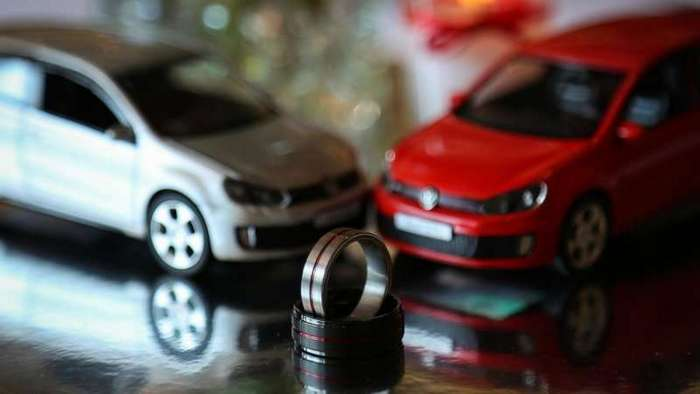 Свадьба в стиле Volkswagen Golf GTI (13 фото)