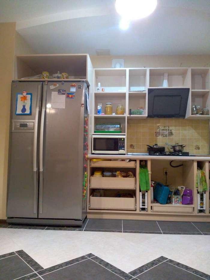 Кухня для любителей экономить (8 фото)