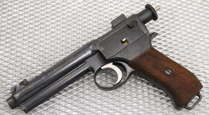 Пистолет Рот-Штейр образца 1907 года (Roth-Steyr M1907)