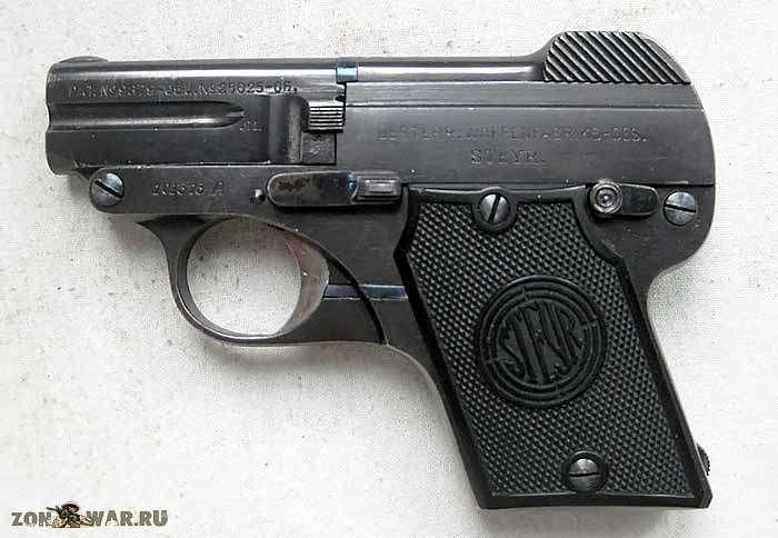 Пистолет Штайр обр. 1909 г (4 фото)
