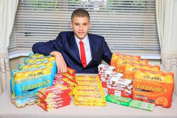 15-летний лондонский подросток создал бизнес-империю, продавая шоколадки в школьном туалете (7 фото)