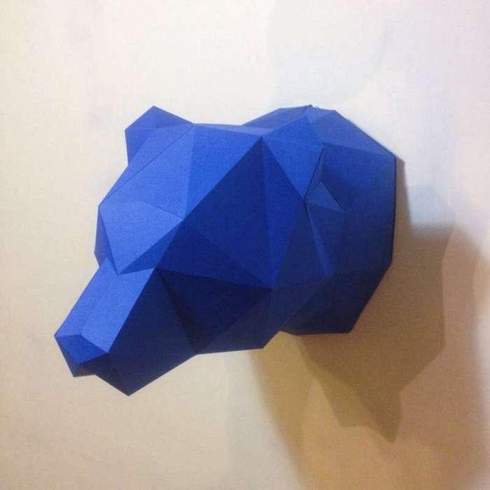 Low-poly papercraft - новое хобби, стремительно набирающее популярность (15 фото)