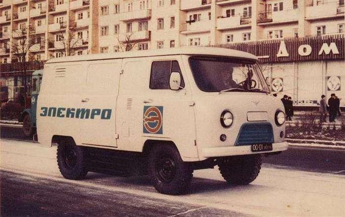 УАЗ презентовал свой гибридный грузовик (7 фото)