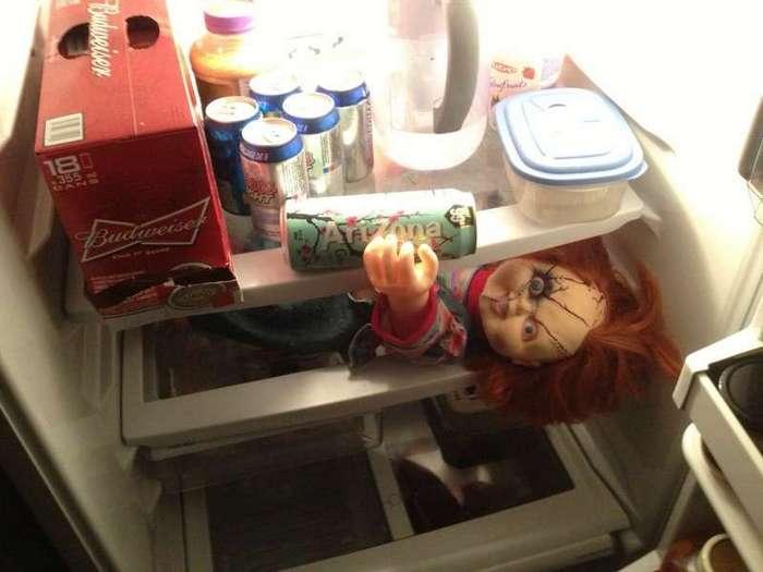Что можно найти в холодильнике? (16 фото)