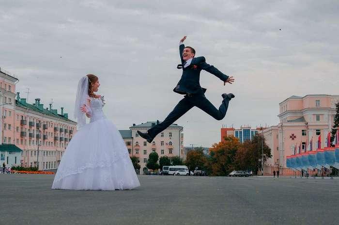 Безумие в чистом виде! 35 безумных свадебных снимков, после которых не захочешь замуж (35 фото)