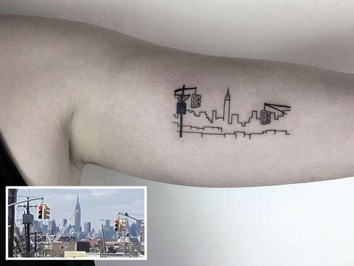 Турецкий художник делает татуировки в честь культовых фильмов (26 фото)