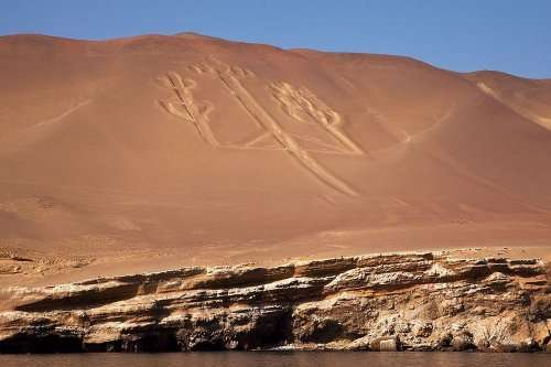 Загадочный Андский канделябр из Перу