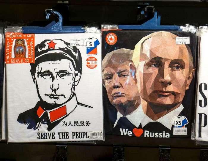 Из России с сувенирами (17 фото)