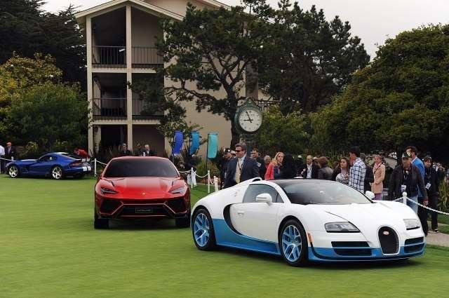 Выставка суперкаров Pebble Beach Concours (35 фото)