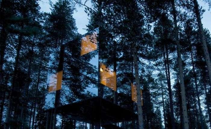 Дома, расположенные в самых необычных местах (20 фото)
