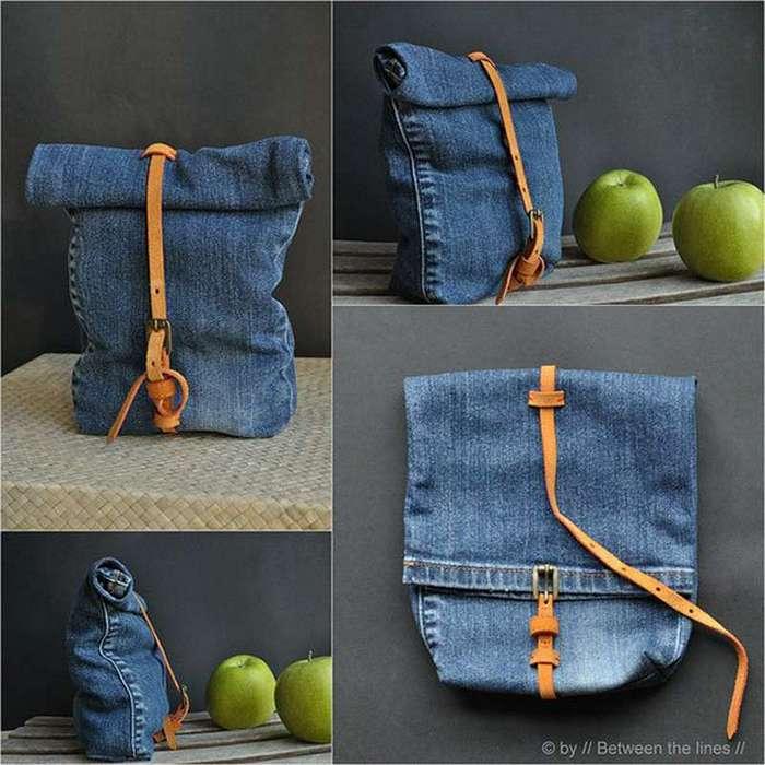 Вот какие супервещи можно сделать из старых джинсов. Какая прелесть!