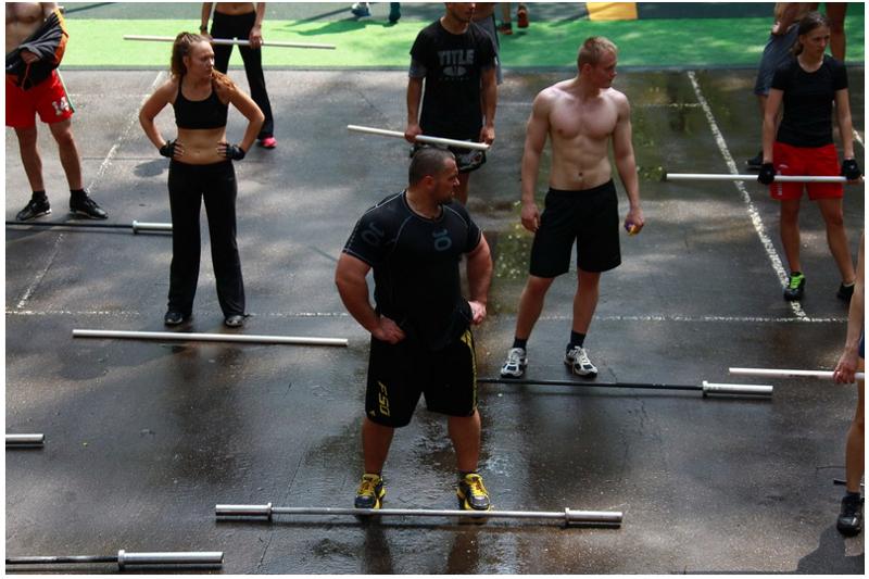 Необычные бесплатные тренировки для москвичей (15 фото)
