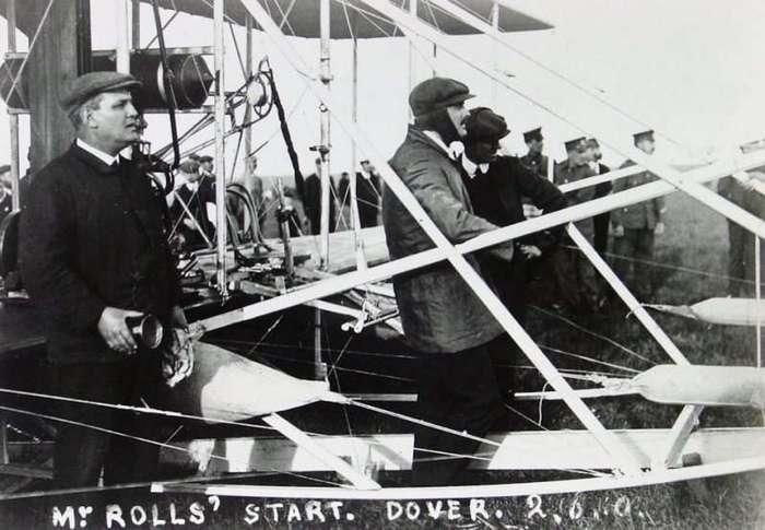 Трагическая история благородного Чарльза Роллса (19 фото)