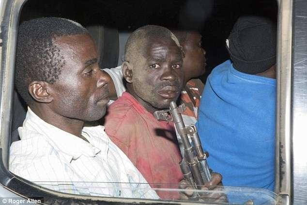 Обезврежены: охотников за слоновой костью заманили в западню (8 фото)