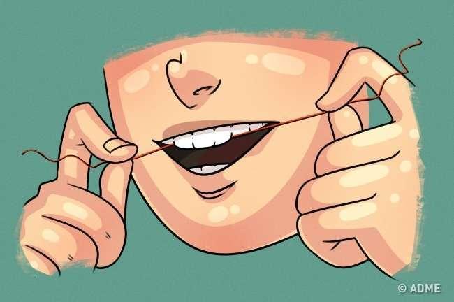 тест на запах изо рта