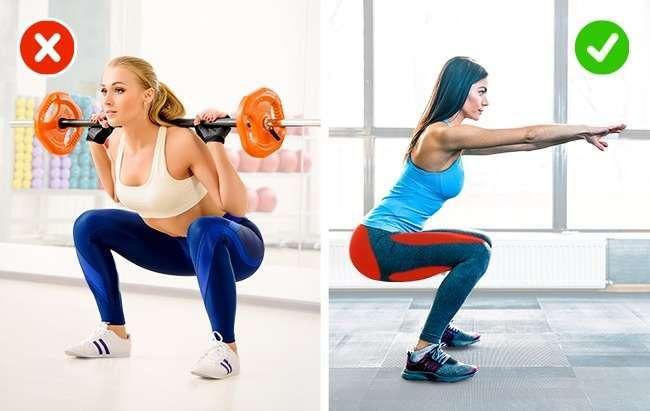 5бесполезных упражнений, которые непомогут похудеть