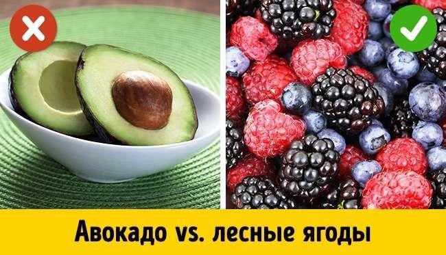 5самых опасных исамых полезных фруктов для тех, кто работает над фигурой