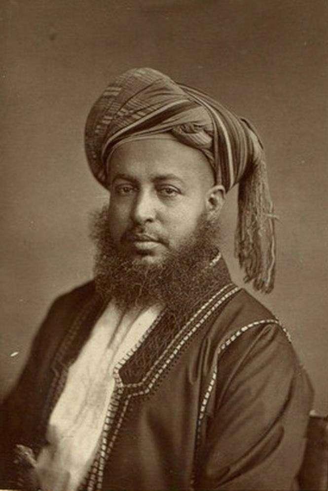Неизвестная Африка. Фотографии 1870-1930 годов <br><br><b><b>Саид Баргбаш бин Саид Аль-Бусаид, второй султан Занзибара</b></b><br><img class=