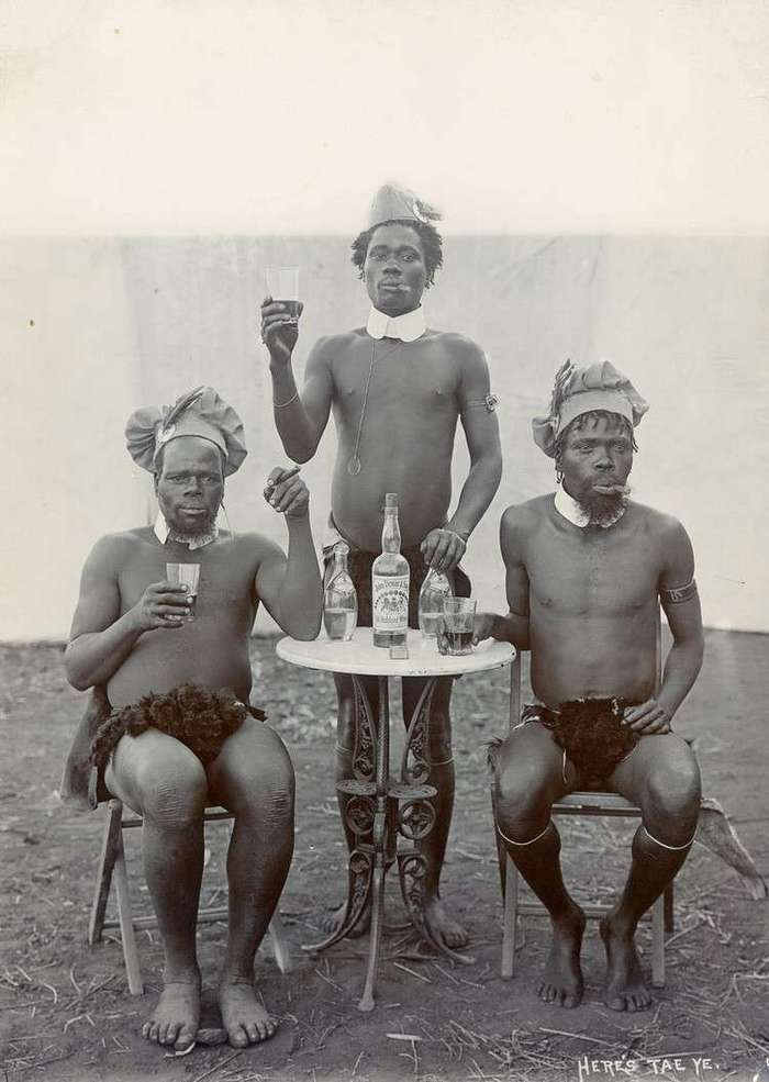 Неизвестная Африка. Фотографии 1870-1930 годов <br><br><b><b>Особенности национальной охоты. Южная Африка, 1903</b></b><br><img class=
