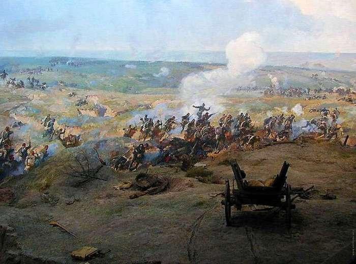 140 лет назад, 19 июля 1877г., началась оборона Шипки <br><br>Отряд Гурко, находившийся за Балканами, героически отражал натиск наступавшей 37-тысячной армии Сулеймана-паши. Первый бой произошел 19 (31) июля под Эски-Загрой (Стара Загора). Плечом к плечу с русскими воинами самоотверженно сражались болгарские ополченцы. Русские солдаты и болгарские ополченцы во главе с генерал-майором Н.Г. Столетовым нанесли врагу большие потери. Но силы были неравные. Отряд Гурко вынужден был отступить к перевалам и влиться в состав войск генерал-лейтенанта Ф.Ф. Радецкого, которые обороняли южный участок фронта. После отступления Гурко из Забалканья Шипка вошла в район южного фронта русской армии, вверенного охране войск генерала Радецкого (8-й корпус, часть 2-го, 4-я стрелковая бригада и болгарское ополчение), оборона Шипки возложена на вновь созданный Южный отряд под командованием генерал-майора Н.Г. Столетова, треть которого составляли болгарские ополченцы.<br ><br>Учитывая важное стратегическое значение Шипки, турецкое командование поставило перед армией Сулейман-паши задачу овладеть перевалом, а затем, развивая наступление на север, соединиться с главными силами турецких войск, наступавшими на Рущук (Русе), Шумла, Силистрия, разгромить русские войска и отбросить их за Дунай.<br /> <br><b><b>Отбили 19 атак. </b></b><br><img class=