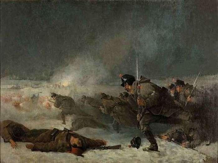 140 лет назад, 19 июля 1877г., началась оборона Шипки <br><br>Позиция, занятая русскими войсками на Шипке, составляла по фронту до 2 км при глубине от 60 м до 1 км, но не соответствовала тактическим требованиям: единственная ее выгода состояла в ее малодоступности. К тому же она подвергалась на всем своем протяжении перекрестному огню с соседних господствующих высот, не представляя ни естественных прикрытий, ни удобств для перехода в наступление. Укрепления позиции включали окопы в 2 яруса и 5 позиций батарей, на наиболее важных направлениях были построены завалы и волчьи ямы, поставлены фугасы. К началу августа оборудование укреплений не было завершено. Однако в силу стратегических требований необходимо было во что бы то ни стало удерживать этот перевал.<br ><br>Сулейман-паша направил на Шипку 12 тыс. человек при 6 орудиях, которые 8 (20) августа сосредоточились у перевала. Русско-болгарский отряд Столетова состоял из Орловского пехотного полка и 5 болгарских дружин (всего до 4 тыс. человек, в том числе 2 тыс. болгар-ополченцев) с 27 орудиями, к которым, уже во время боя следующего дня, прибыл из г. Сельви Брянский полк, увеличивший число защитников Шипки до 6 тыс. человек.<br ><br>Утром 9 (21) августа турецкая артиллерия, заняв гору к востоку от Шипки, открыла огонь. Последовавшие затем атаки неприятельской пехоты, сначала с юга, потом с востока, были отражены русскими. Бой длился весь день; ночью русским войскам, ожидавшим повторения атаки, пришлось укреплять свои позиции. 10 (22) августа турки не возобновляли атак, и дело ограничивалось артиллерийской и ружейной перестрелкой. Между тем Радецкий, получив известие об опасности, угрожающей Шипке, двинул туда общий резерв; но он смог прибыть, и то при усиленных переходах, лишь 11 (23) августа; кроме того, приказано было идти на Шипку еще одной пехотной бригаде с батареей, стоявшей у Сельви, которая могла подоспеть лишь 12 (24) числа.<br ><br>Бой 11 (23) августа, ставший самым критическим для защитников перевала, нач