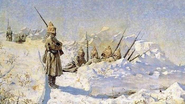 140 лет назад, 19 июля 1877г., началась оборона Шипки <br><br>«Шипкинское сидение» - один из самых тяжких эпизодов войны. Защитники Шипки, обреченные на пассивную оборону, заботились главным образом об укреплении своих позиций и об устройстве, по возможности, закрытых ходов сообщения с тылом. Турки тоже усилили и расширили свои фортификационные работы и непрерывно осыпали русскую позицию пулями и артиллерийскими снарядами. 5 (17) сентября, в 3 часа ночи, они снова предприняли атаку с южной и западной сторон. Им удалось овладеть так называемым Орлиным гнездом - скалистым и обрывистым мысом, выдающимся перед горой св. Николая, откуда они были выбиты лишь после отчаянной рукопашной схватки. Колонна, наступавшая с запада (от Лесного кургана), была отражена огнем. После этого турки серьезных атак уже не предпринимали, а ограничивались обстрелом позиции.<br ><br>С наступлением зимы положение войск на Шипке сделалось крайне тяжелым: морозы и метели на вершинах гор были особенно чувствительны. Особенно ощутимы были эти лишения для вновь прибывших русских войск: три полка 24-й дивизии в короткое время буквально растаяли от болезней.<br ><br>За время с 5 (17) сентября по 24 декабря (5 января 1878 г.) в шипкинском отряде выбыло из строя убитыми и ранеными всего около 700 человек, а больными - до 9,5 тыс. Конец 1877 г. ознаменовался и окончанием «шипкинского сидения», последним актом которого была атака турецких позиций на дороге от горы св. Николая к д. Шипка.<br /> <img class=