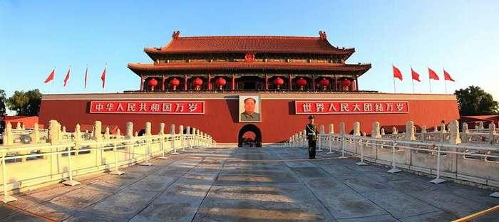 Красный Китай 1966 года глазами китайского фотографа <br><br><b> <b>Место идеологического покоя. Когда-нибудь одна идеология сменяет другую, часто противоположную...</b> </b><br><img class=