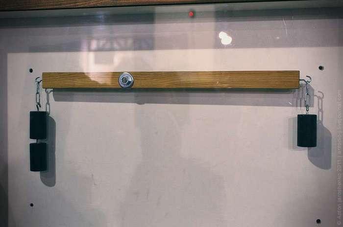 Музей -Экспериментаниум- Собрал маленький, собери большой. Сам собрал, прошелся, проверил, работает.
