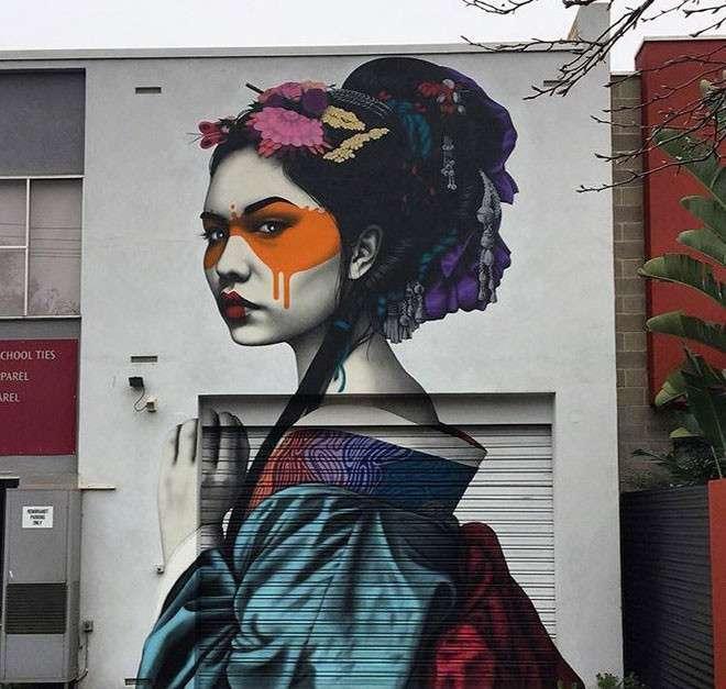 20 крутых работ уличных художников со всего мира <br><br><b> <b>Fin Dac (США)</b> </b><br><img class=