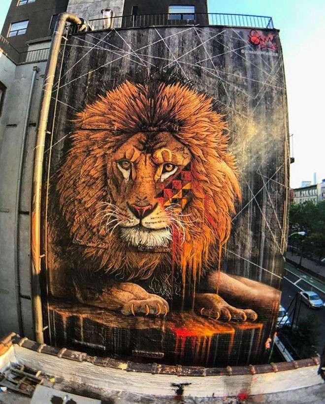 20 крутых работ уличных художников со всего мира <br><br><b> <b>Sonny (ЮАР)</b> </b><br><img class=