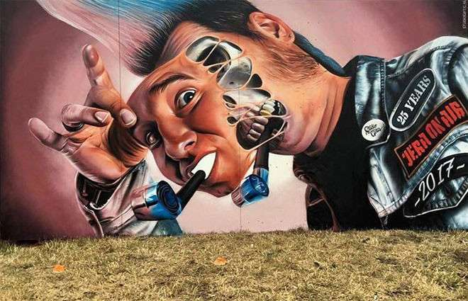 20 крутых работ уличных художников со всего мира <br><br><b> <b>Studio Giftig (Голландия)</b> </b><br><img class=