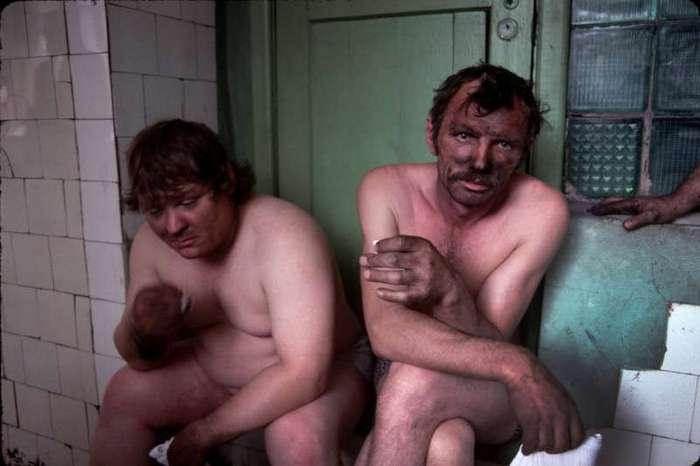 Очень интересные исторические фото <br><br><b> <b>Шахтеры, 1991 год, Новокузнецк</b> </b><br><img class=