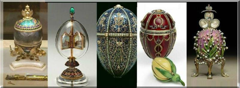 СТАТЬЯ N8 Поддельное искусство. Шедевры на коленке <br><br>Сегодня известно, что гением мастеров ювелиров Фаберже было создано 71 яйцо, императорских из них 54 . Практически судьба всех яиц известна за исключением шести<br ><br><br ><br>• «Курочка с сапфировым кулоном»<br ><br><br ><br>• «Несессер»<br ><br><br ><br>• «Херувим и колесница»<br ><br><br ><br>• «Розово-лиловое яйцо с тремя миниатюрами»<br ><br><br ><br>• «Датский юбилей»<br ><br><br ><br>• «Памятное Александра III»<br /> <img class=