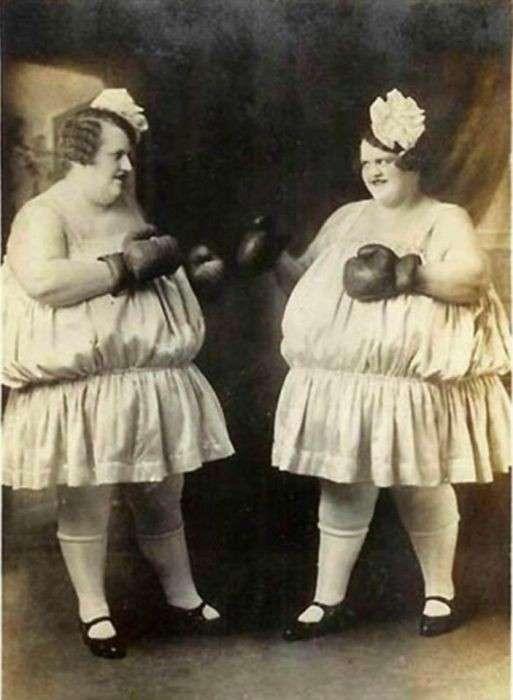 Женский бокс на рубеже XIX и XX столетий (16 фото)