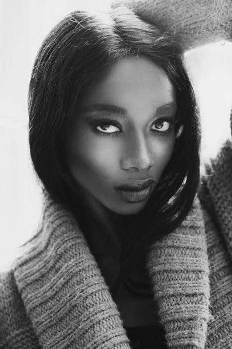 Самые красивые африканки <br><br><b> <b>Модель из Буркина-Фасо, Мисс Африка 2004 - Georgie Badiel</b> </b><br><img class=