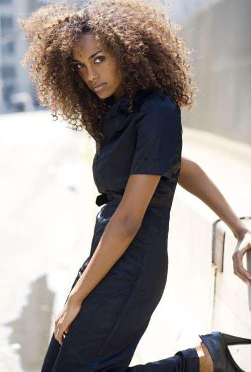 Самые красивые африканки <br><br><b> <b>Gelila Bekele (Эфиопия)</b> </b><br><img class=