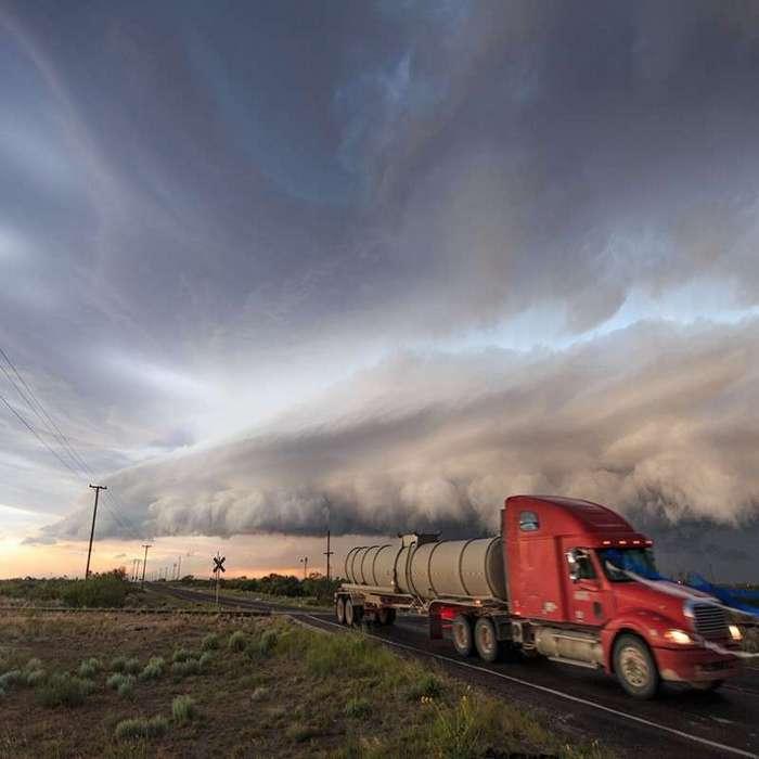 Потрясающие кадры гроз и штормов -22 фото-