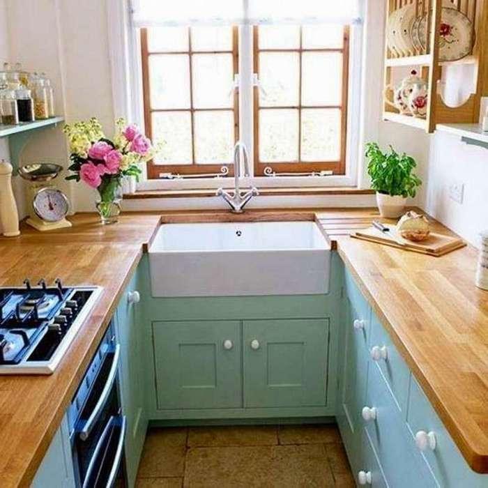Дизайн своими руками для маленькой кухни фото 39