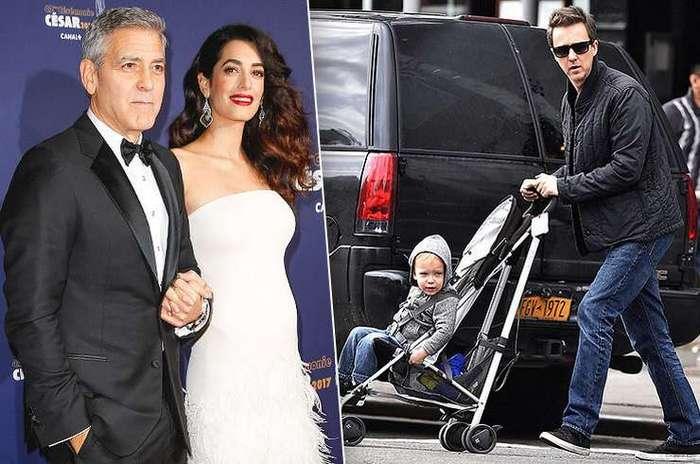 6 знаменитых актеров Голливуда, впервые ставших отцами после 40 -9 фото-