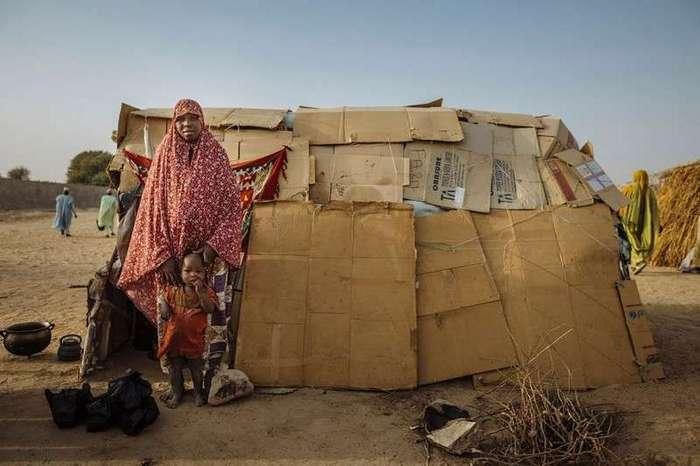 Где живут беженцы -16 фото-