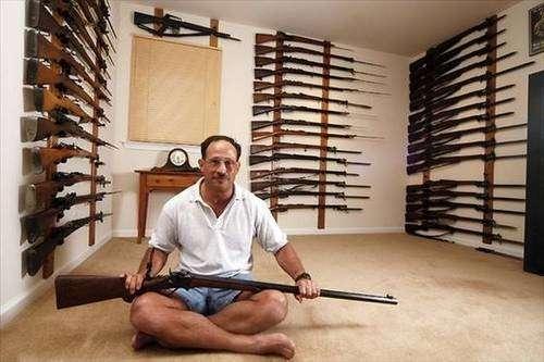 Частные коллекции огнестрельного оружия -31 фото-