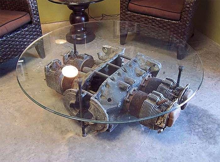 Классная мебель из самолетных деталей-41 фото-