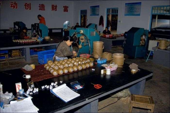 Фабрика китайских фейерверков (21 фото)